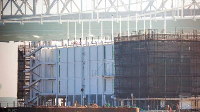 Google's mysterious barge will be turned into luxury showrooms