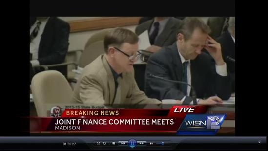 Joint Finance Committee meets all night