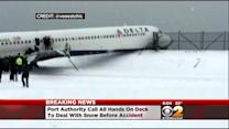 NTSB Investigation Looks Into Why Plane Skidded Off LGA Runway