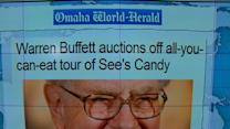 """Headlines at 8:30: Buffett auctions off """"all-you-can-eat"""" tour of See's Candy Factory"""