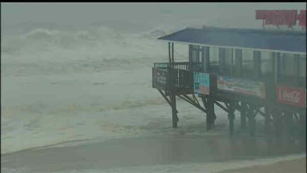 Dangerous conditions on the Jersey Shore