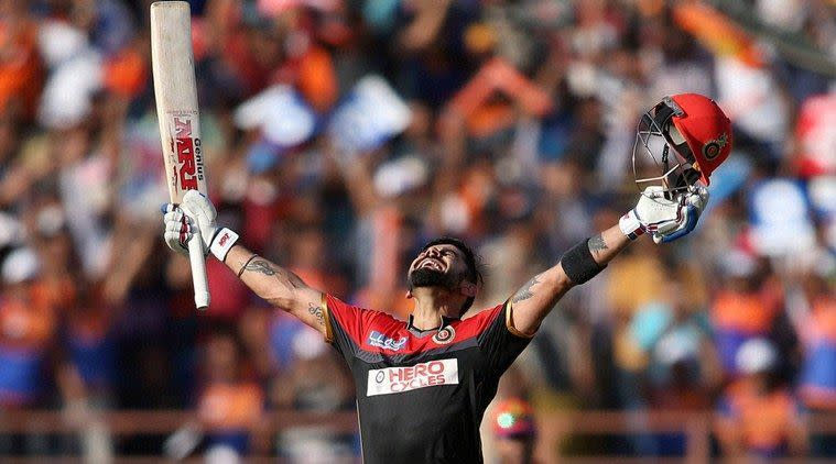 Kohli scored all his 4 IPL centuries in 2016