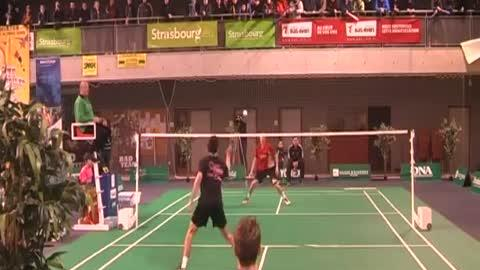 Epic Badminton Block Shot