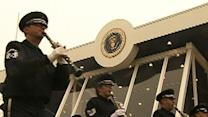 Raw: Dress Rehearsal for 2nd Obama Inauguration