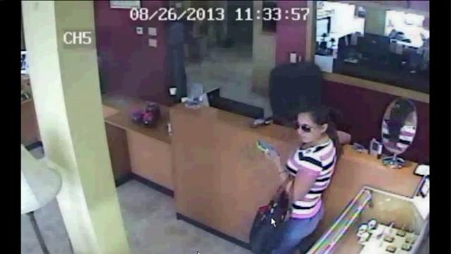 Diamond Thieves Caught On Camera