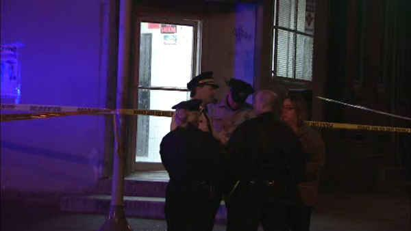3 shot inside North Philly Chinese restaurant