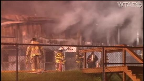 Fire breaks out at Beaver County Airport