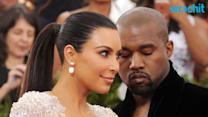 Kim Kardashian and Kanye West Shop for Baby Clothes
