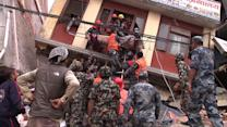 Massive Aftershock in Nepal Sends People Fleeing