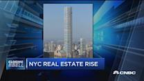 NYC real estate rise