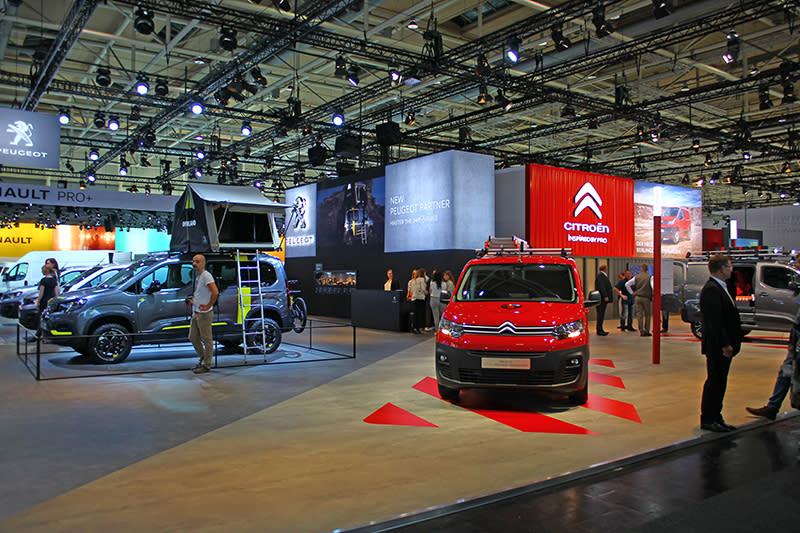 一如Peugeot,Citroen當然也以EMP2為基礎的Berlingo作為焦點。