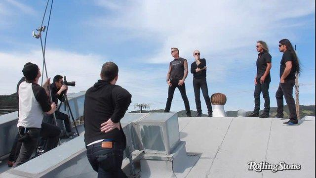 Metallica: Behind the Scenes of the Big Issue Cover Shoot - API test