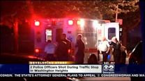 2 Chicago Police Officers Shot After South Side Traffic Stop