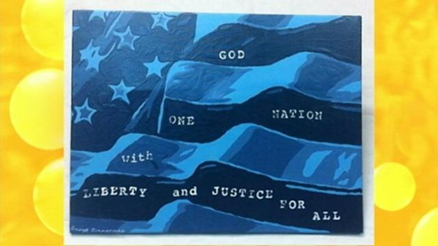 George Zimmerman's Painting Sparks a Bidding Frenzy