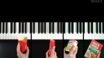 Musician creates 25-product jingle mashup