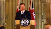 U.K. PM David Cameron Addresses James Foley's Death