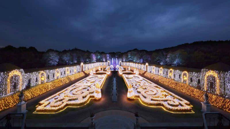 燈光與古典樂合奏「夜光管弦樂」燈光秀