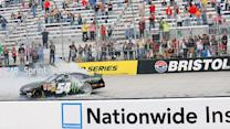 Final Laps: Busch holds off Larson in a close win at Bristol