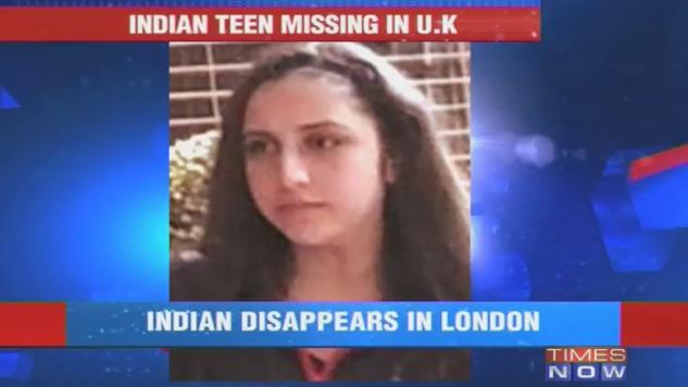 Teen goes missing while on holiday