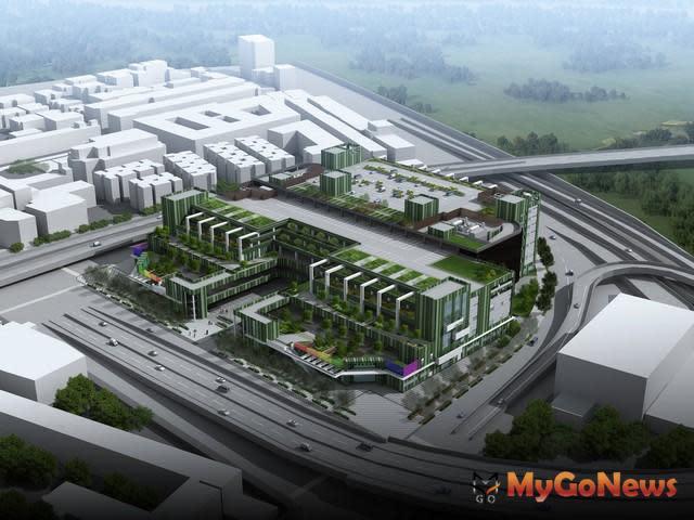 環南市場改建工程5月21日上梁,第一期工程拚2019年完工(圖:台北市政府)