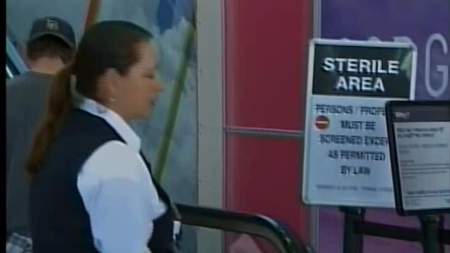 Airport security issues in new report