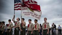 Boy Scouts president questions ban on gay adults