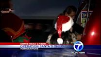 Volunteers spread Xmas joy to less fortunate