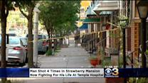 Man Shot 4 Times In Strawberry Mansion