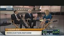 Buffett & Gates on Immigration Reform & Internet Tax Fair...