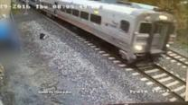 Surveillance Video Shows NJ Train Before It Crashed