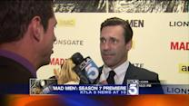 Stars of `Mad Men` Shine in Hollywood at Season 7 Premiere