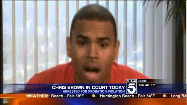 Chris Brown Due Back in Court After Allegedly Violating Probation