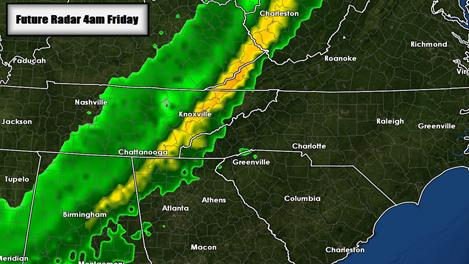 Severe weather threat for Thursday into Friday