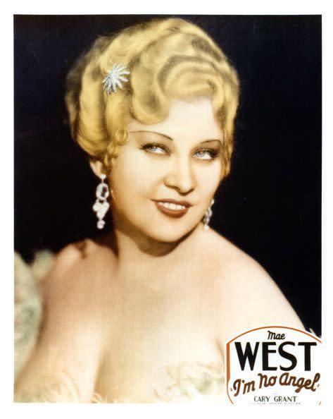 以大膽作風聞名的Mae West,算是當今性感女星的開路先鋒。