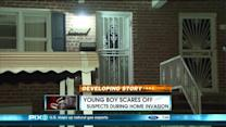 Boy Grabs Bad Guys` Gun, Opens Fire On Home Invaders