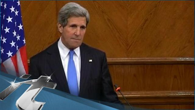 Syria Breaking News: Kerry Presses Nigeria on Human Rights