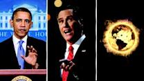 Romney Wins, Obama Reelected, Supernova Destroys Earth All Possibilities In A Random Universe