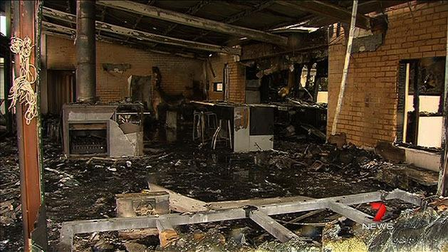 House fire leaves huge damage bill