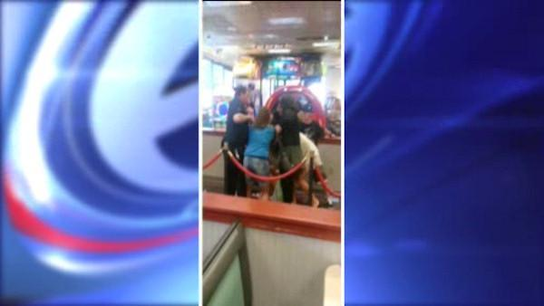 Brawl erupts at Chuck E. Cheese birthday party