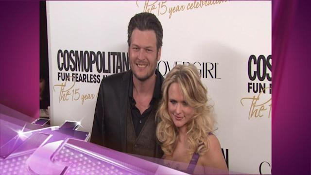 Entertainment News Pop: Miranda Lambert May Not Have A Voice On Blake Shelton's Tour, But She Reportedly Has Spies