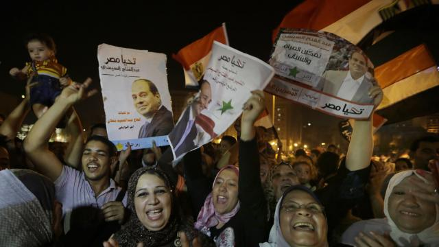 Sisi heads for crushing win in Egypt elections