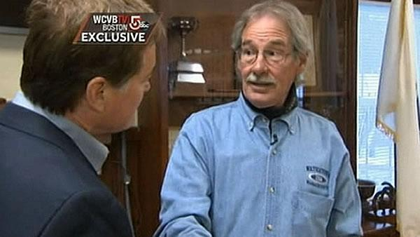 Homeowner talks about finding Boston bomber in boat