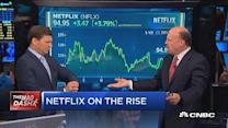Cramer's Mad Dash: Netflix's long-term story