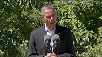 President Obama condemns violence in Egypt