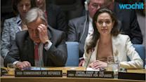 Angelina Jolie Criticizes UN Security Council on Syria Refugee Crisis
