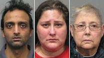 Three people arrested in death of 9-month-old girl