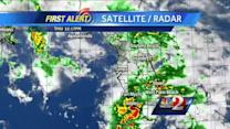 Rain continues Thursday afternoon