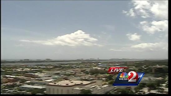 Storms fire up Monday afternoon