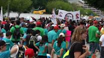 """Whose streets? Our streets!"" chant pro-immigration advocates in D.C."