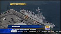 USS Curts returns from final deployment
